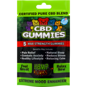 Hemp Wellness Farm - Hemp Bombs 5 Count CBD Gummies
