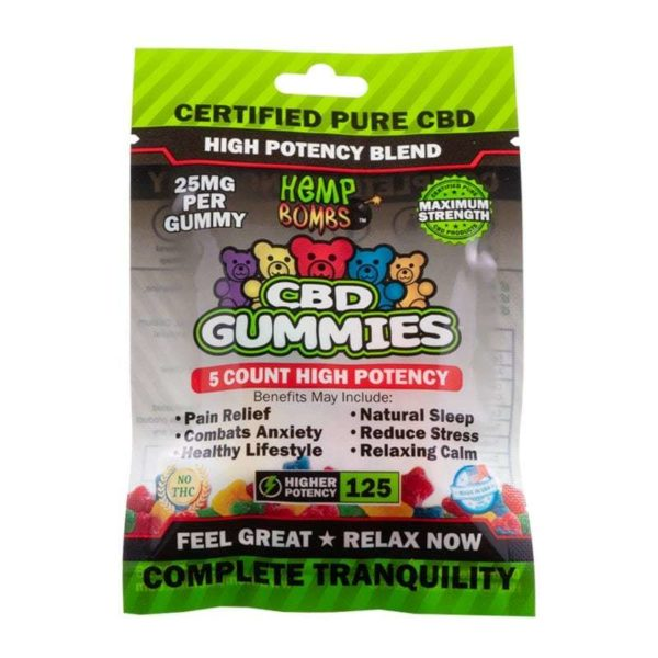 Hemp Wellness Farm - Hemp Bombs 5 Count HP CBD Gummies